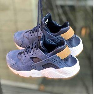 Nike air huarache run sd sneakers, diffused blue